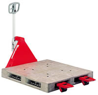ハンドパレットトラック 低床型・1100kg・520×980mm