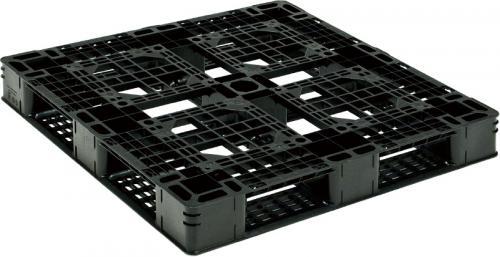 新品 リサイクルパレット 1100×1100×127mm (2枚)