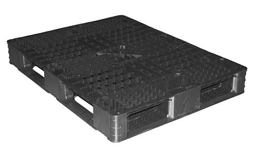 中古 8型プラスチックパレット L820mm×W1090mm×H128mm