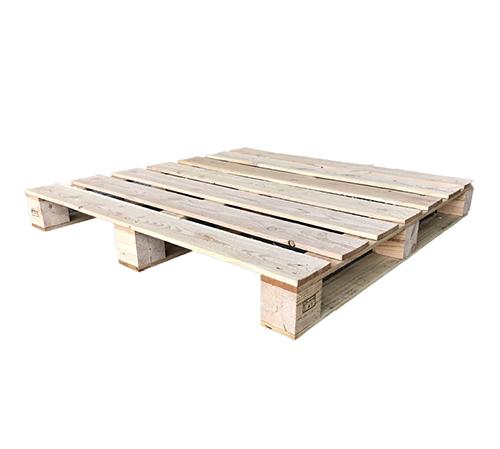 新品 ワンウェイ用木製パレット 4方差し 1100×1100×126mm