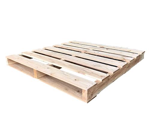 新品 ワンウェイ用木製パレット 2方差し 1100×1100×104mm