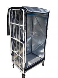 カゴ台車保冷カバーW1100×D800×H1500(1700)mm用