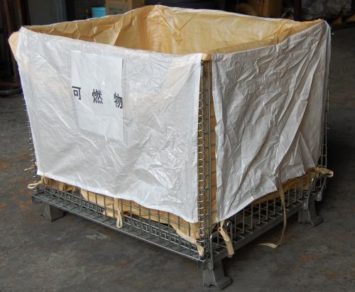 メッシュパレット用 フレキシブルコンテナバッグ1200×1000×900 10枚