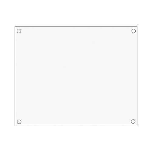 カゴ台車用 看板(白) (連結樹脂 カゴ台車専用)