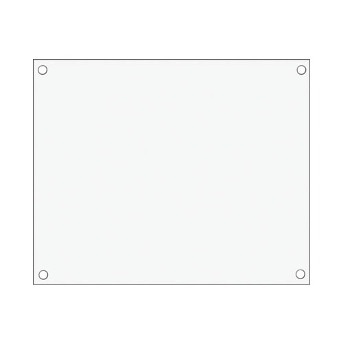 看板(白)(連結樹脂 カゴ台車専用)