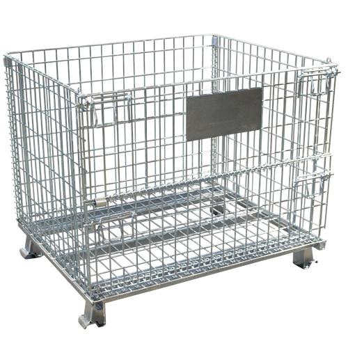 倉庫引取り 新品 メッシュパレット W1000×D800×H850mm