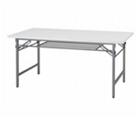 新品 折畳テーブル W1800×D450×H700