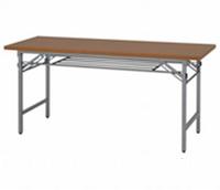 新品 折畳テーブル W1500×D450×H700