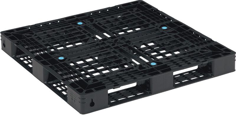新品 リサイクルパレット 1100×1100×120mm (2枚)