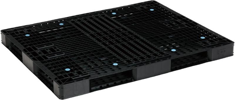 新品 リサイクルパレット 1400×1100×100mm (2枚)